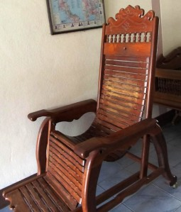 Lovely old chair in Sukhothai
