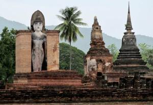 Buddhas at Old Sukhothai