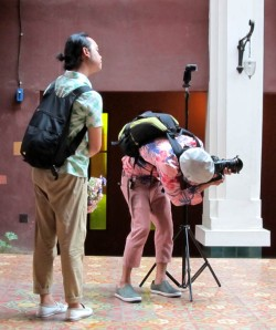 Photographer and assistant, Imm Fusion Hotel, Bangkok