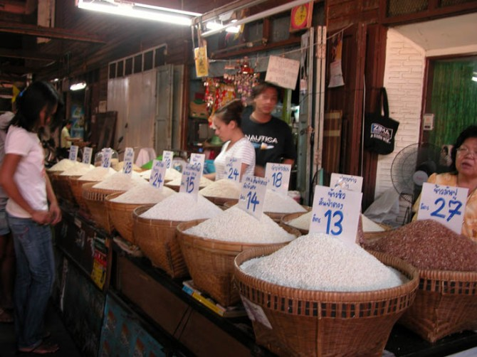 I had no idea there were so many varieties of rice!