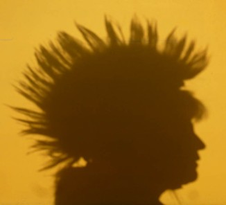 Does my mohawk look big in this...?