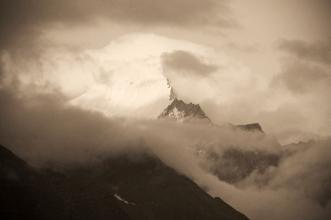Kinnaur Kailash. Chitkul, Himalayas.