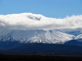 Mount Ngauruhoe, Central Plateau, North Island, New Zealand. Ngauruhoe erupted 45 times in the 20th century, most recently in 1977. Now you can see why 'Lord of the Rings' was made in New Zealand... :)