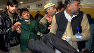 Photo from www://bbcnews.com Peshawar school attack leaves 141 dead