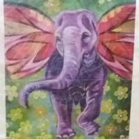 Blow Your Friends Away with Some Cool Art and Help Spread Elephant Awareness While You're At It!