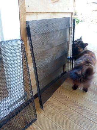 Heater grill inspector