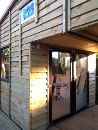 Brown doors 1