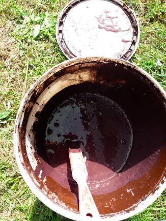 Bucket of paint