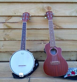 Uke and banjolele
